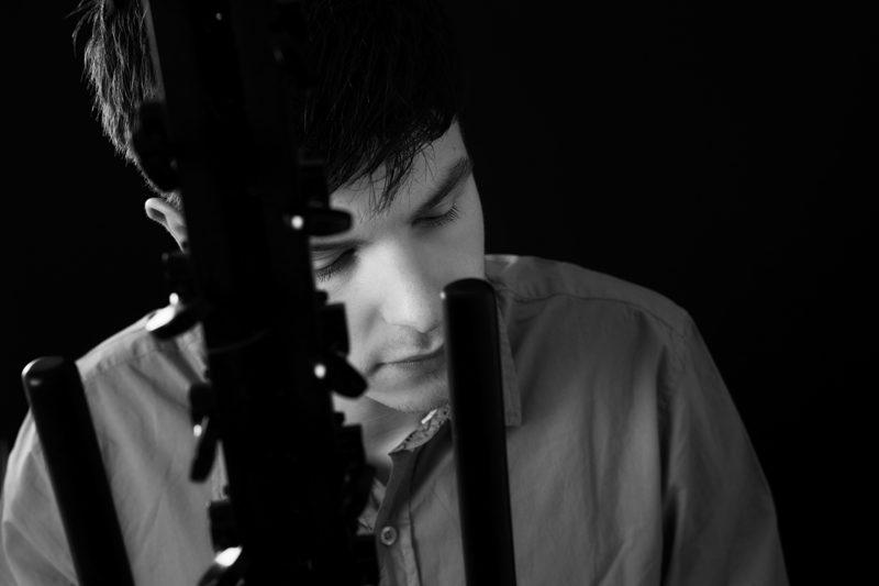 close-up josh doughty playing kora