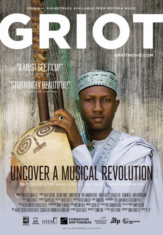 Griot film poster